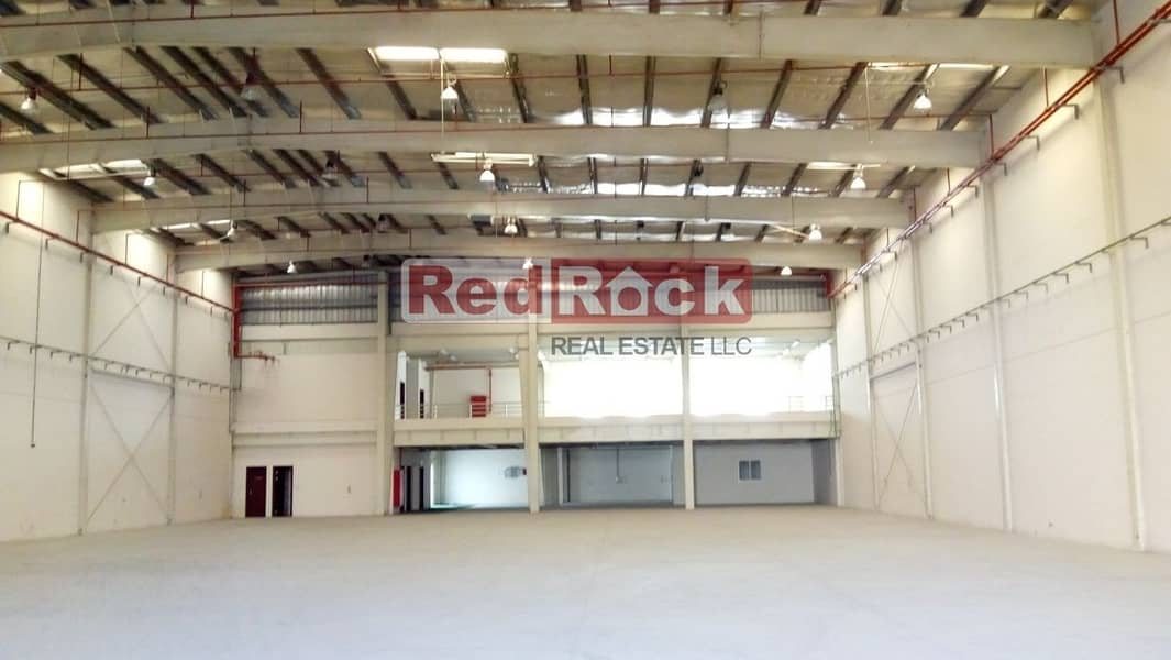 40000 Sqft Warehouse 200 KW Power with Office in DIP