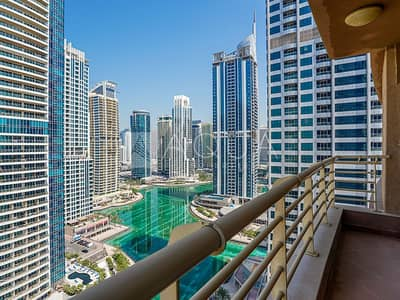 1 Bedroom Flat for Rent in Jumeirah Lake Towers (JLT), Dubai - Vacant Now | Full Lake View | High Floor