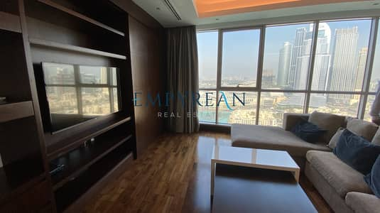 Elegant & Lavish Apartment Overlooking Burj Khalifa | Fully Furnished 2 Bedroom