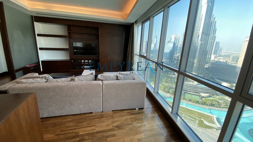 2 Elegant & Lavish Apartment Overlooking Burj Khalifa | Fully Furnished 2 Bedroom