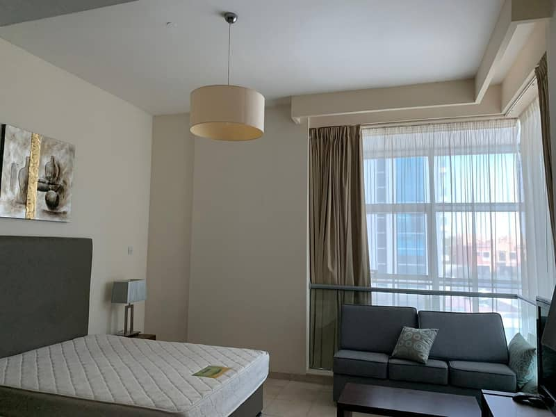 FULLY FURNISHED STUDIO NOW FOR SALE IN DIAMOND TOWER DUBAI SPORTS CITY
