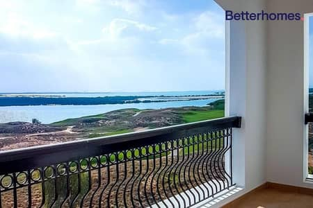 2 Bedroom Flat for Rent in Yas Island, Abu Dhabi - Golf Sea View|Huge 2BR +maid |Ready to move in