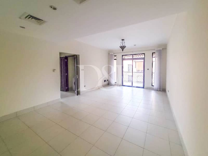 UNFURNISHED | WALK IN WARDROBE | BURJ VIEW