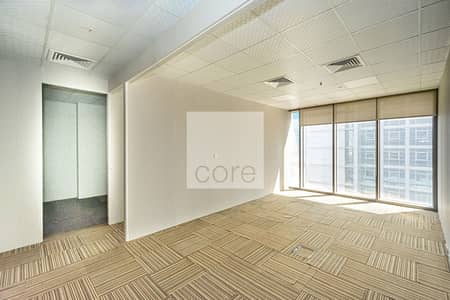 Office for Rent in Capital Centre, Abu Dhabi - Fitted Office | Vacant | Low Floor | Parking
