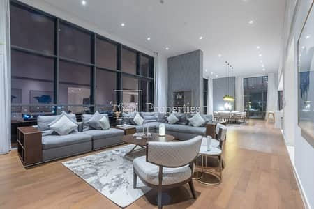 4 Bedroom Penthouse for Sale in Jumeirah, Dubai - Fully Furnished & Serviced Penthouse w/ Pool
