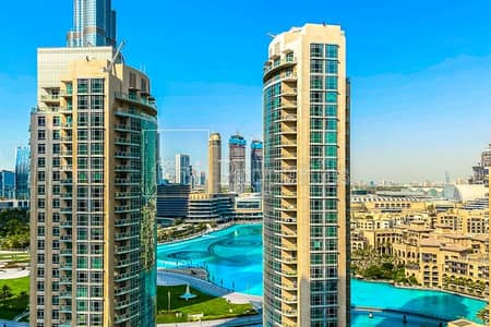 2 Bedroom Apartment for Sale in Downtown Dubai, Dubai - Upgraded 2 BHK | Full Burj and Fountain Views