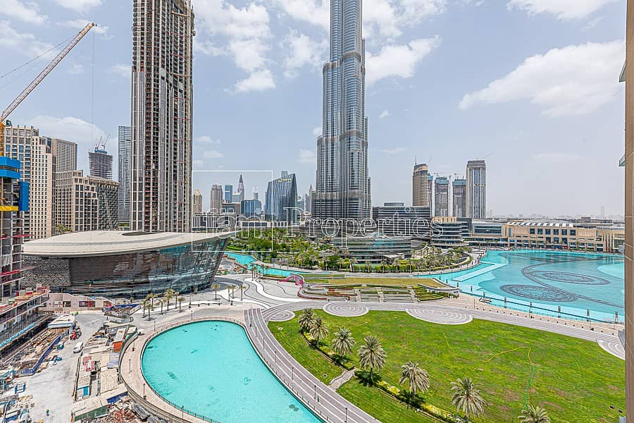 Sea & Burj Khalifa View | The Residences 1