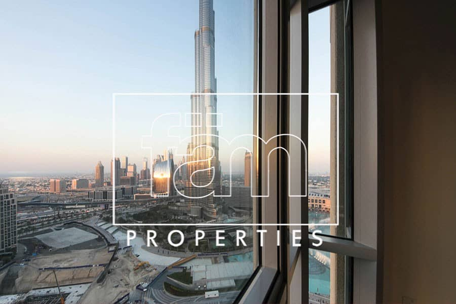 2 Sea & Burj Khalifa View | The Residences 1