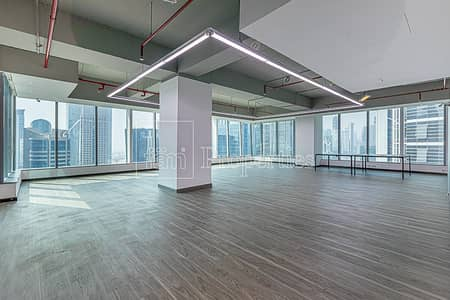 Office for Sale in Business Bay, Dubai - High Floor | Fitted | Burj & Creek View