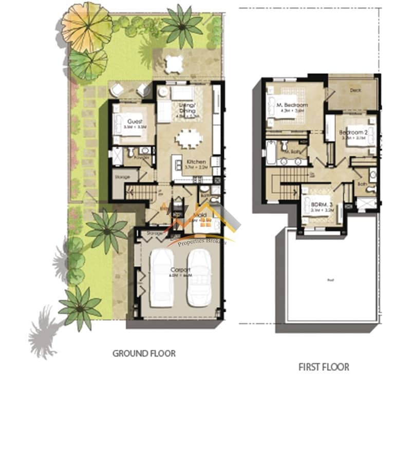 10 BRAND NEW 3BR+MAID TOWNHOUSES at NSHAMA