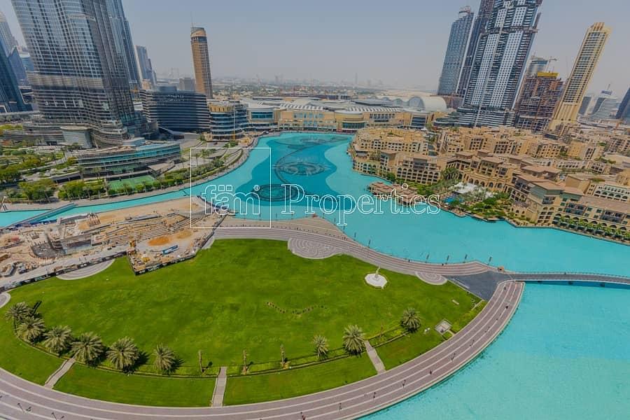 2 Upgraded | Panoramic Burj & Fountain Views