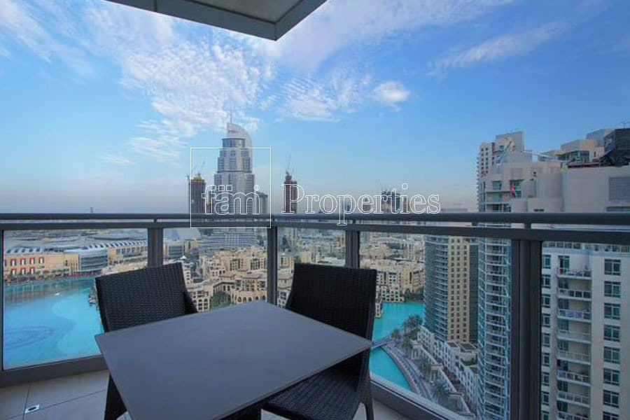 11 Upgraded | Panoramic Burj & Fountain Views