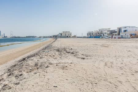 Plot for Sale in Palm Jumeirah, Dubai - The Lowest Priced Signature Villa with Sunset View