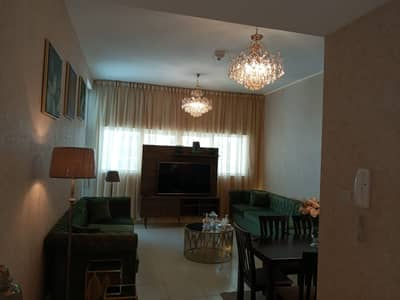 Two-room apartment and hall super deluxe finishing with 60,000 down payment and 7 years installments