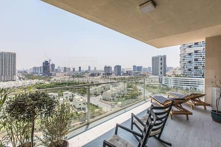 شقة 3 غرف نوم للبيع في قرية جميرا الدائرية، دبي - Brand New | Upgraded Unit | 180 View | Big Terrace