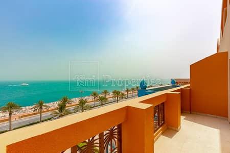 فلیٹ 2 غرفة نوم للايجار في نخلة جميرا، دبي - Full Sea View | Brand New | Multiple cheques