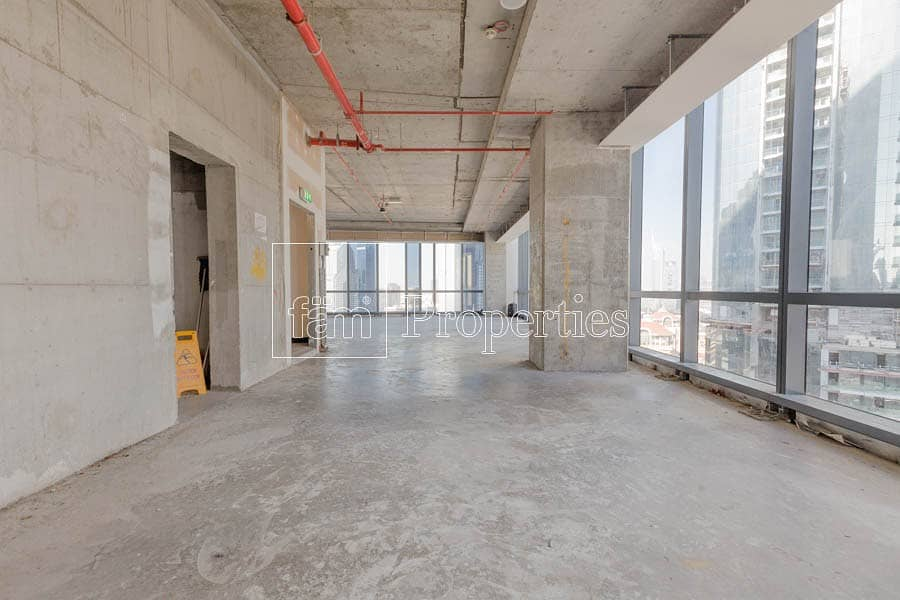 2 Large Shell and Core Office with 9 Parking Bays