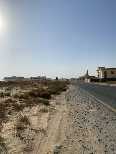 Plot for Sale in Hoshi, Sharjah - For sale residential plot in alhoshi,near to park and mosque, very good location, close to Maliha road and all services and commercial shops