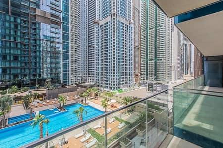 استوديو  للايجار في دبي مارينا، دبي - Pool View   Chiller Free   Equipped Kitchen