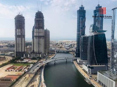2 Bedroom Flat for Sale in Business Bay, Dubai - High Floor  Sea and Canal View  Vacant on transfer