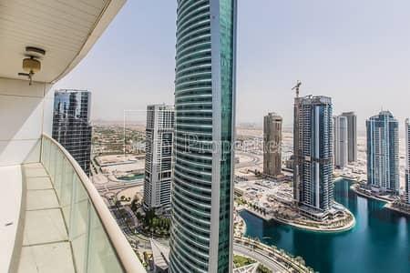 فلیٹ 3 غرف نوم للايجار في أبراج بحيرات الجميرا، دبي - 3 bhk | lake Terrace | Exclusive | next to metro