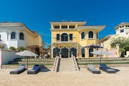5 Bedroom Villa for Sale in Palm Jumeirah, Dubai - Rare Atrium Entry II | High Number | Unique Villa