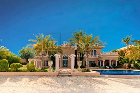 7 Bedroom Villa for Rent in Palm Jumeirah, Dubai - Luxurious 7 Bedroom/Furnished/Multiple cheques