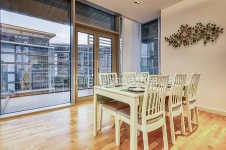 شقة 2 غرفة نوم للايجار في جزيرة بلوواترز، دبي - 2 Bed+Maid|Fully Furnished|Partial Sea View