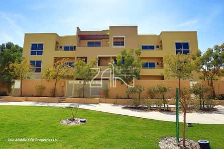 تاون هاوس 3 غرف نوم للبيع في حدائق الراحة، أبوظبي - Single Row 3 BR Type A in Great Location with Garden