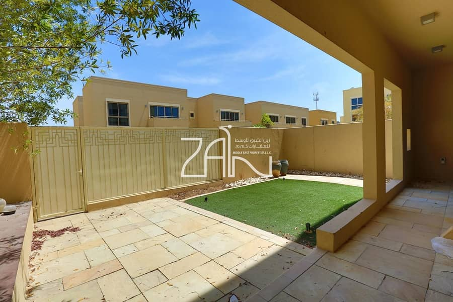 2 Single Row 3 BR Type A in Great Location with Garden
