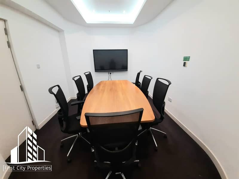 16 Modern and Fully Equip Offices in Khalidiyah Street