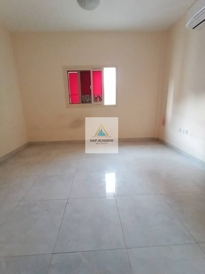 Huge Size Brand New 1BHK just 19k Central AC in National paint Muwaileh