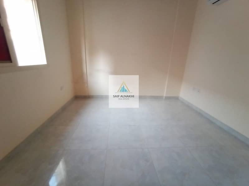 10 Huge Size Brand New 1BHK just 19k Central AC in National paint Muwaileh