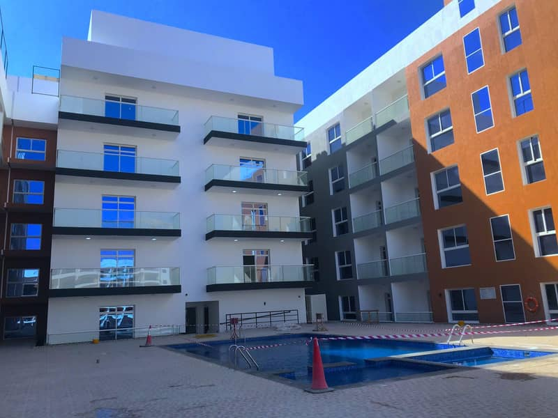 2 64  FLATS  BUILDING BRAND NEW | 1BR  |  2 BR |  STUDIO FLATS  | READY TO MOVE