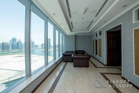 Office for Sale in Business Bay, Dubai - Furnished | Canal Views | Pantry & Washroom