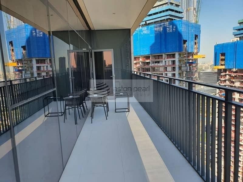 Vacant| High Floor | Furnished 3 Bedrooms + Maid's