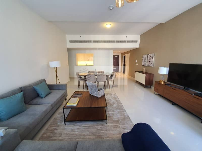 2 Vacant| High Floor | Furnished 3 Bedrooms + Maid's