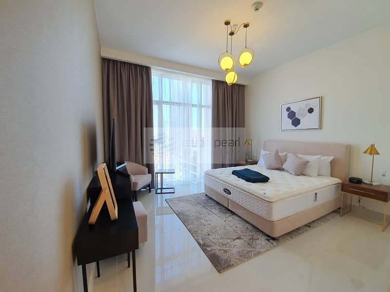 10 Vacant| High Floor | Furnished 3 Bedrooms + Maid's