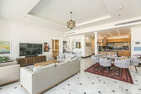 شقة 3 غرف نوم للبيع في نخلة جميرا، دبي - Exclusive   Fully Upgraded   Full Sea View   PJ