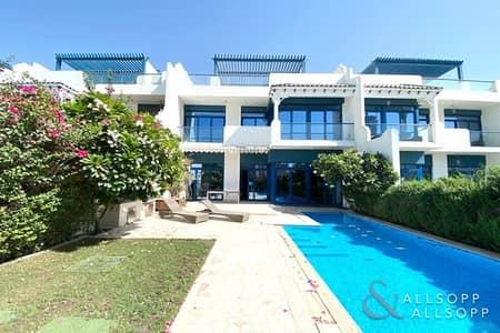 فیلا 5 غرف نوم للبيع في نخلة جميرا، دبي - Upgraded | 5 Beds | Sea View | Furnished
