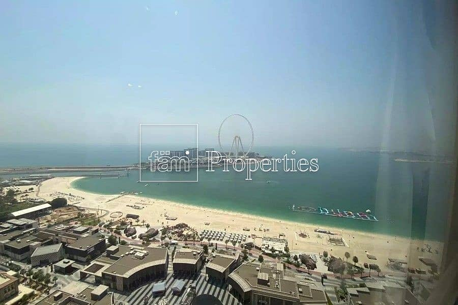 2 Full Sea View Furnished or Unfurnished 3BR