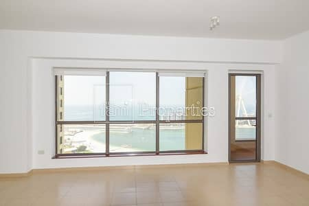 3 Bedroom Apartment for Sale in Jumeirah Beach Residence (JBR), Dubai - Breathtaking Sea View Biggest Layout 3BR+M