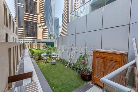 فلیٹ 1 غرفة نوم للبيع في دبي مارينا، دبي - Tastefully Furnished 1BR Duplex with Backyard