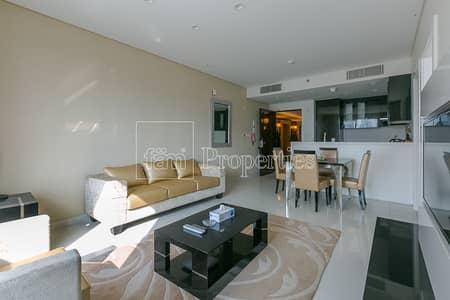 شقة 1 غرفة نوم للايجار في الخليج التجاري، دبي - Burj Khalifa View! Furnished! in Best Location