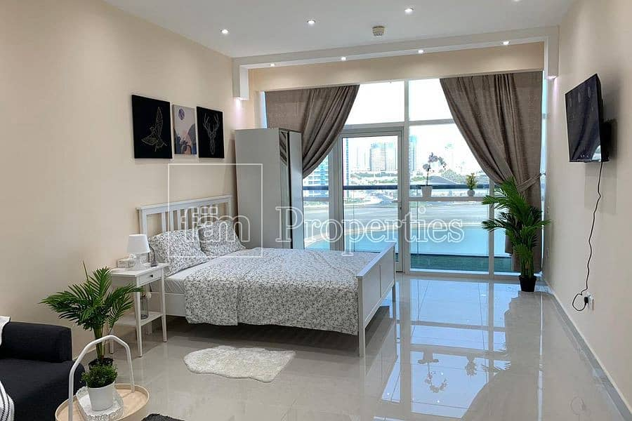 2 12Cheques | Upgraded | Furnished | Full Canal View