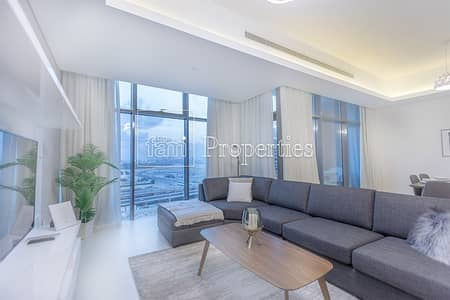 Luxury Furnished | Large 2BR+ Maid | 2 min to Mall