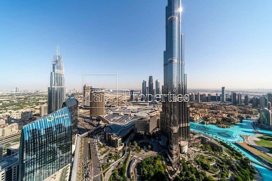 17 Burj Khalifa View | Spaciuos | Fully Furnished