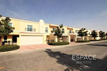 4 Bedroom Villa for Rent in Green Community, Dubai - Modern 4 Bed | Study and Maid | 6 Cheques