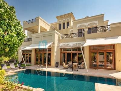 6 Bedroom Villa for Sale in Al Barari, Dubai - Luxury 6 BR Villa|Furnished|W/ Elevator|Hot deal