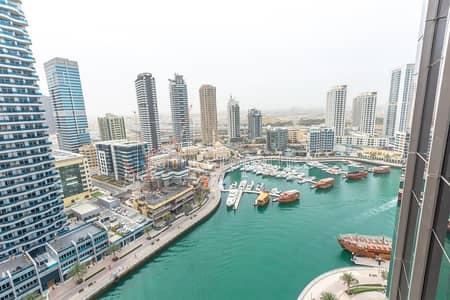فلیٹ 2 غرفة نوم للبيع في دبي مارينا، دبي - Full Marina View I 2BR+1 Maids Room